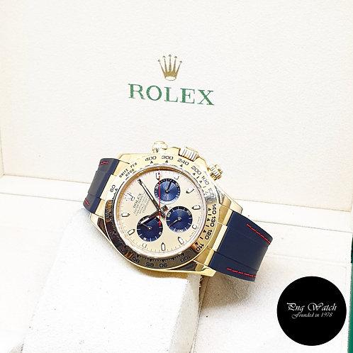 "Rolex 18K Yellow Gold Champagne ""Paul Newman"" Daytona REF: 116518 (07)"