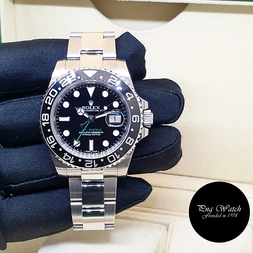 Rolex Oyster Perpetual Ceramic Black GMT Master 2 REF: 116710LN (12)(2)