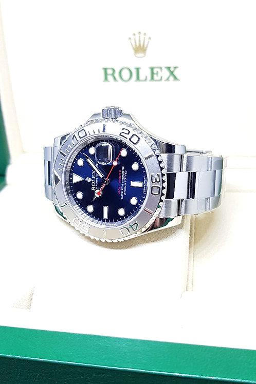 Rolex Blue 40mm Yachtmaster REF: 116622