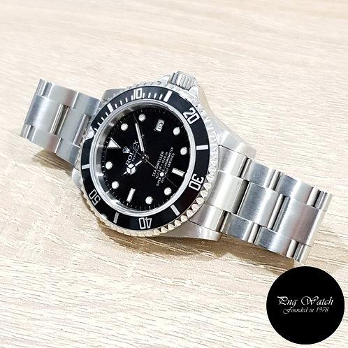 Rolex Oyster Perpetual Black Steel Sea Dweller REF: 16600 (F)(2)