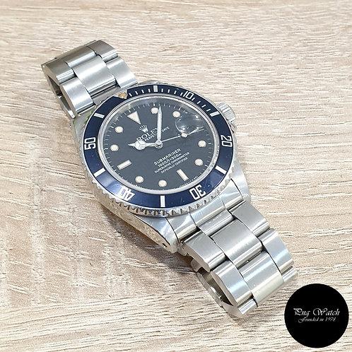 Rolex Oyster Perpetual Tritium Date Black Submariner REF: 16800 (8.31)(2)