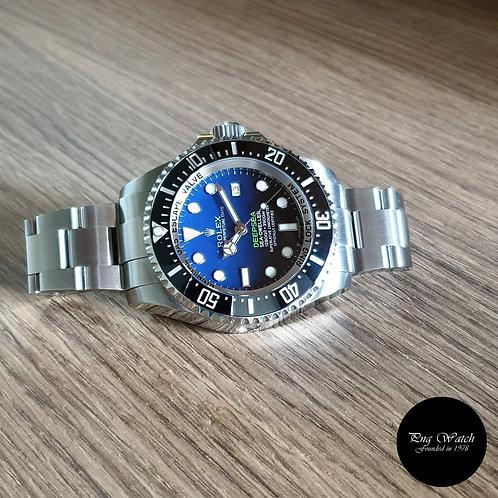 "Rolex Sea Dweller ""DEEPSEA"" Blue REF: 116660 (2)"