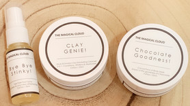 Everything is magical with The Magical Cloud: Organic products for Face, Body and Feet
