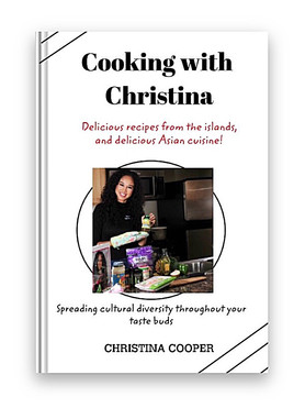 Actress and Model Christina Cooper drops a new cookbook! And it's already won an award for '