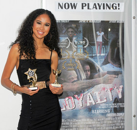 "Christina Cooper premieres her first short film ""Loyalty"" which is now rumored to become a"