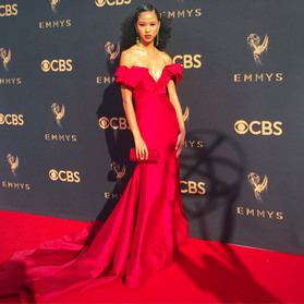 The Best Dressed Celebrity at the 2017 Emmy Awards