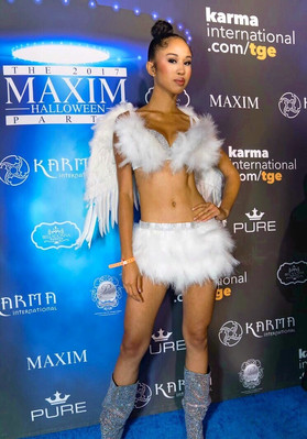 "International Model Christina Cooper chosen to run for Maxim magazine's ""FINEST"" in 20"