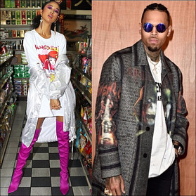 Is Chris Brown dating international model & actress Christina Cooper? We've got the scoop!&q