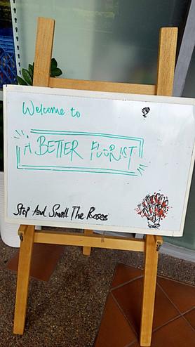 A Better Florist is really BETTER!