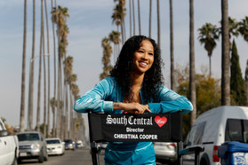 "Christina Cooper, movie ""South Central Love"", is now running for an an Academy Award Nomination!"