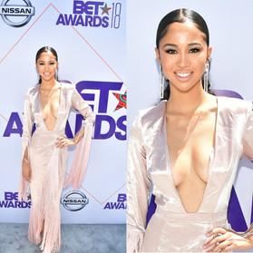 Our favorite beauty & hair look on the BET Awards red carpet 2018
