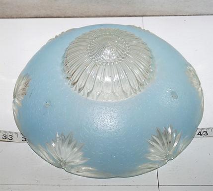 Art Deco Shade - Blue