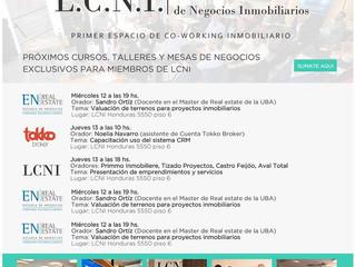 Cursos y talleres de LCNI en Julio