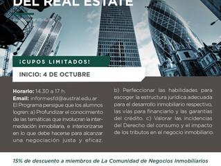 Programa sobre aspectos jurídicos del Real Estate