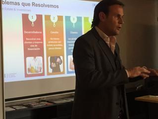 Manuel Estruga presentó un taller de Crowfunding en LCNI.