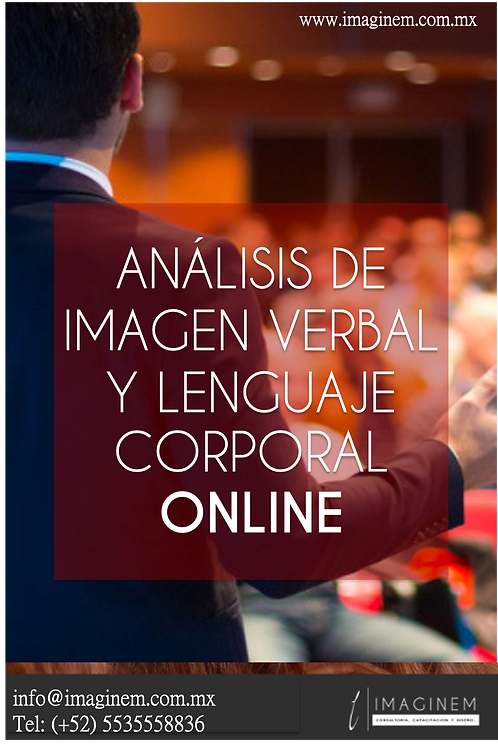 Análisis de Imagen Verbal y Lenguaje Corporal - ONLINE