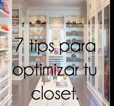 7 tips para optimizar tu closet