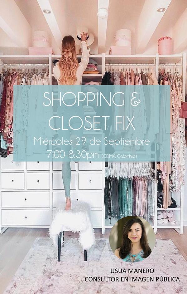 Póster Shopping closet fix usua manero.png