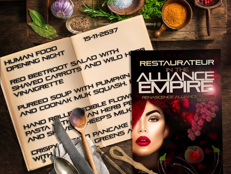 A very short excerpt from Restaurateur in the Alliance Empire