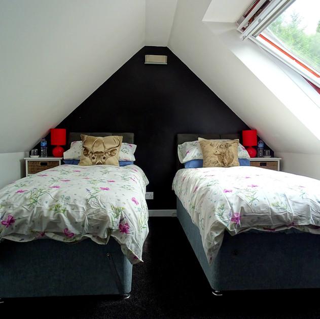 Twin single beds