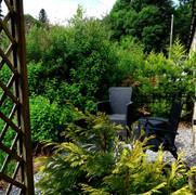 King garden area