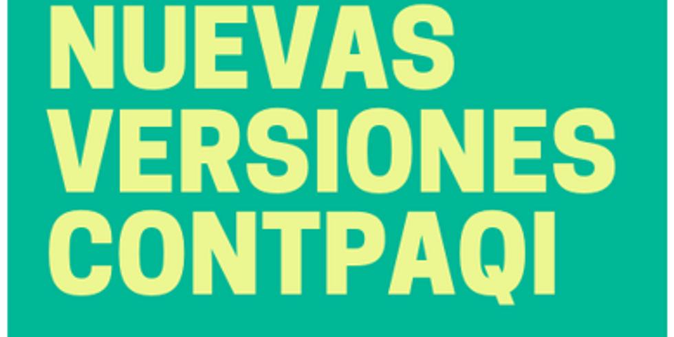 Nuevas Versiones ContpaqI