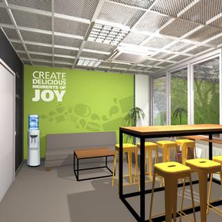 Interieur van het kantoor van Mondelez 3