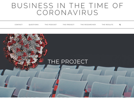 Business in the Time of Coronavirus