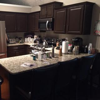 Before, kitchen