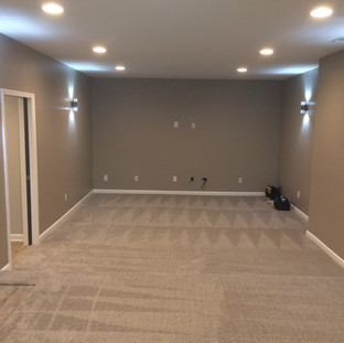 After, theatre room