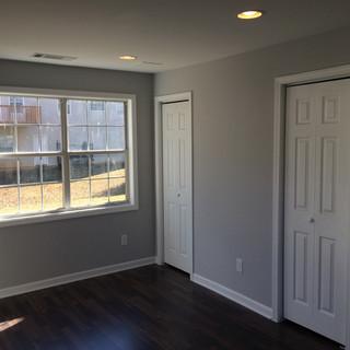 After, basement bedroom
