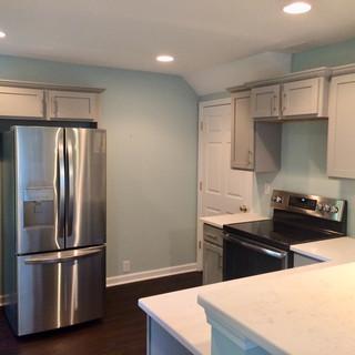 After, basement kitchen