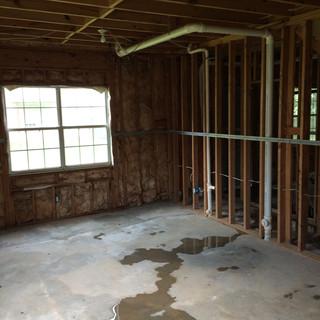 Before, basement bedroom