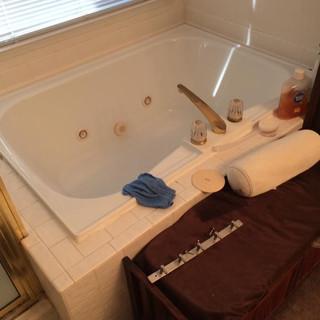 Before master tub