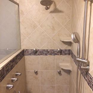 After, shower spa