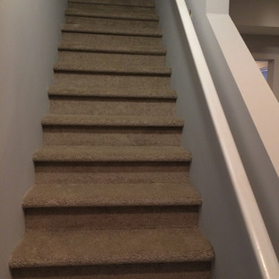 After, basement stairs