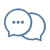 រក្សាទំនាក់ទំនងតាមរយៈ WhatsApp, Wechat ។ល។
