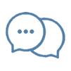 在Whatsapp,微信等方面保持联系。