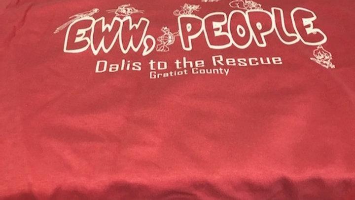 Eww, People' Shirt -Bright Pink