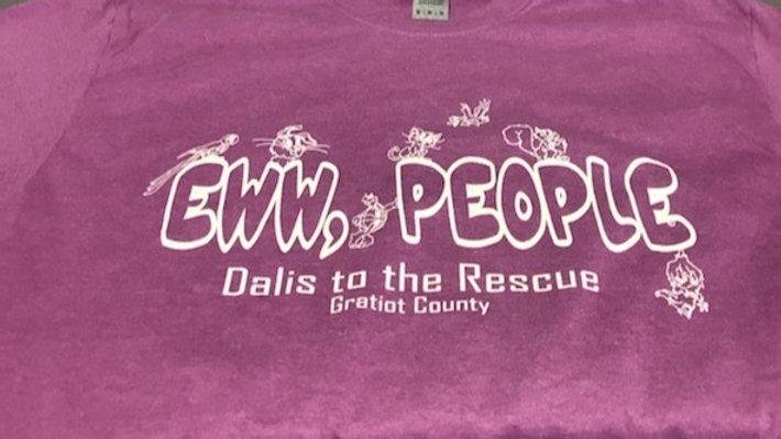 'Eww, People' Shirt - Purple/Pink