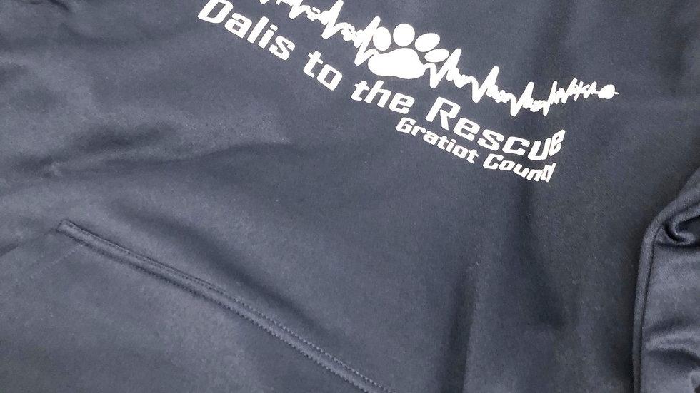 Dalis to the Rescue Hoodie - Dark Grey