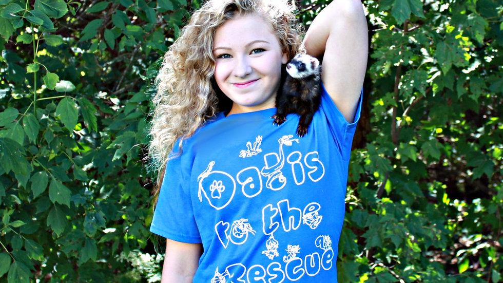 DTTR Animals T-Shirt -Blue