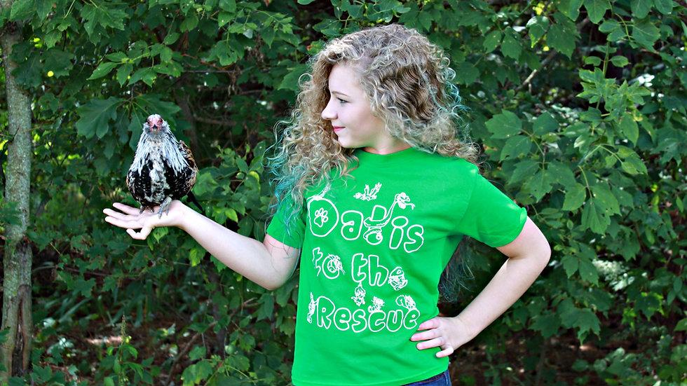 DTTR Animals T-Shirt - Green
