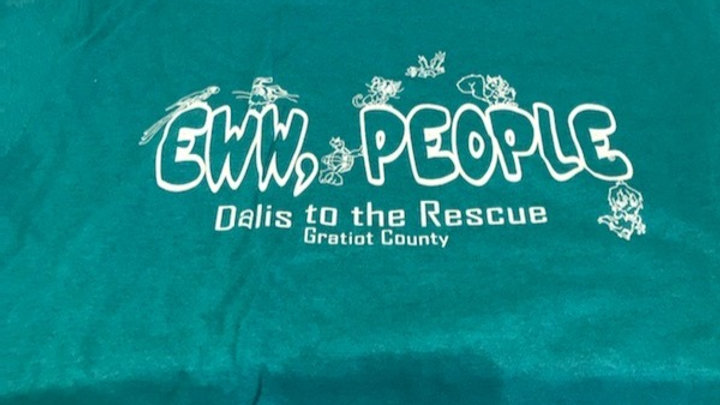 'Eww, People' Shirt -Teal