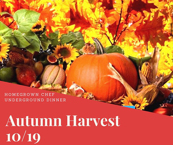 2019-10-09 Autumn Harvest Dinner Poster.
