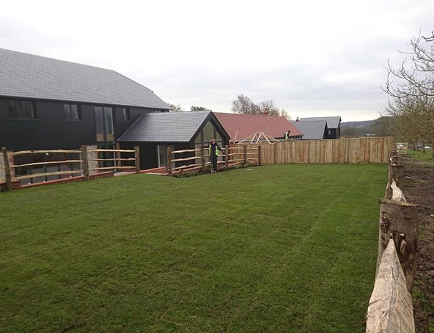 Site Planting and Turfing