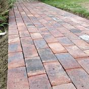 Brick Path Extension in Matfield, Kent