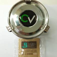קופסת אחסון לשמירה על הטריות CVAULT - כולל שקית לשמירת לחות
