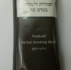 REAL LEAF טבק ללא ניקוטין