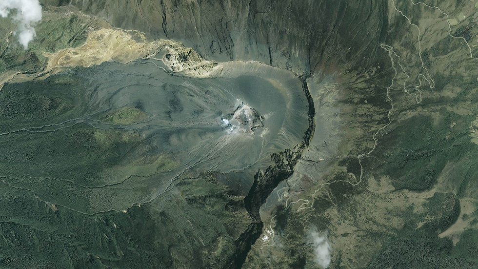 Tierras Volcánicas, Mineralización Natural Orgánica